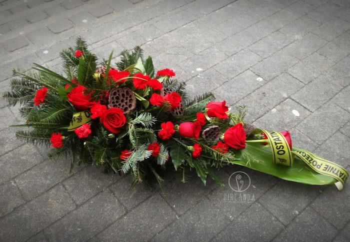 Floret z czerwonych kwiatów