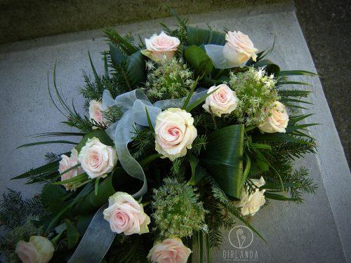 Floret z jasnoróżowych róż 2