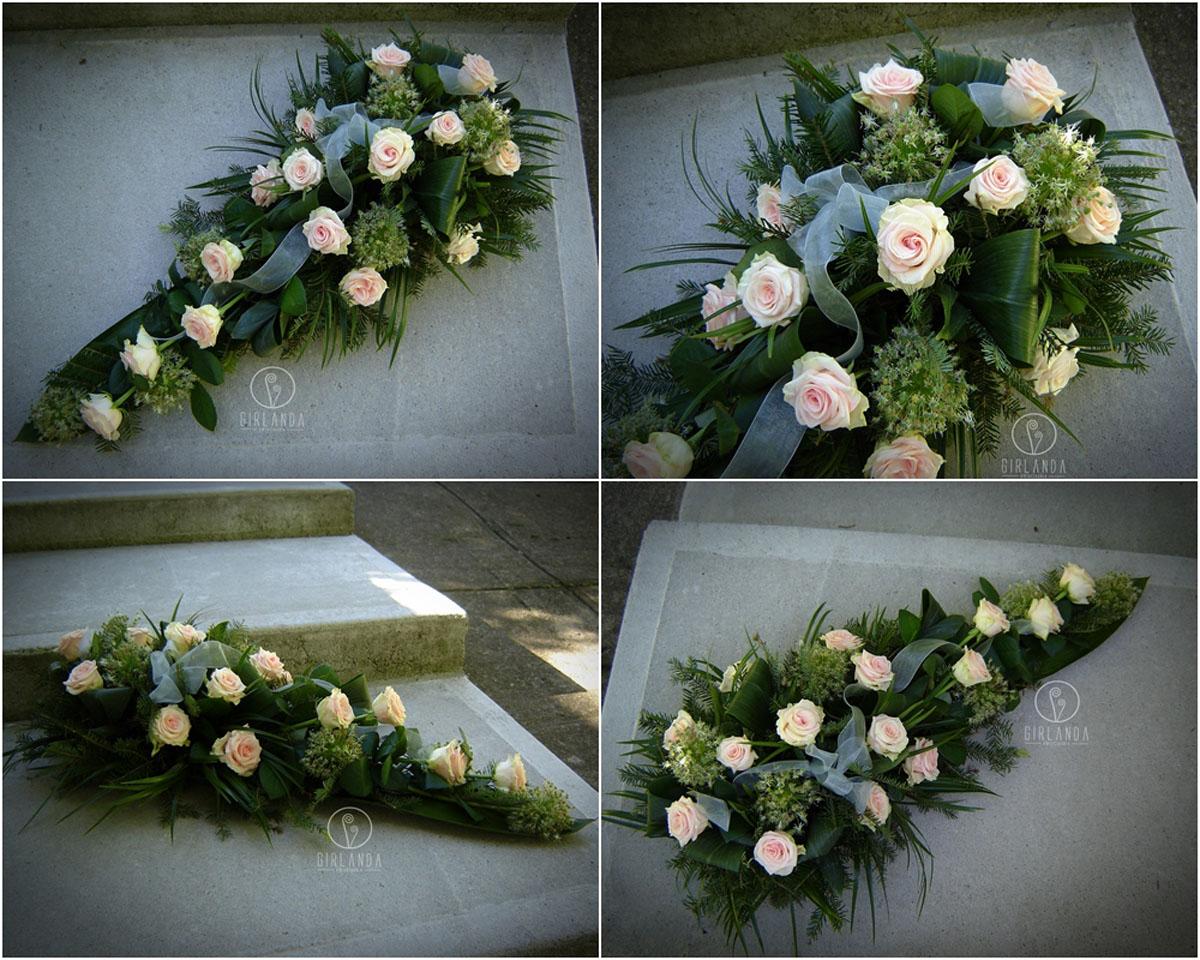 Floret z jasnoróżowych róż 3