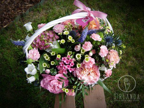 Kosz kwiatów mieszanych 2