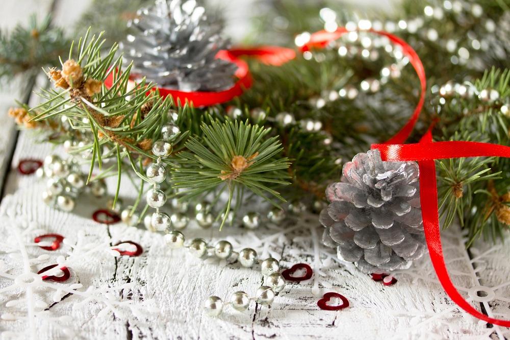 Dekoracje do wiązanek świątecznych