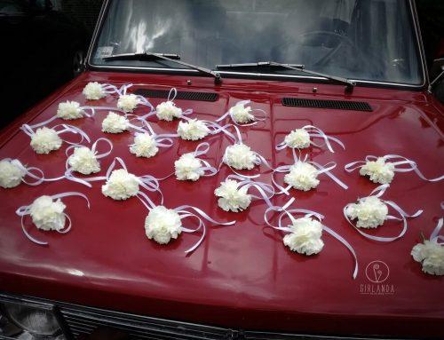 5 zasad dekorowania auta na ślub
