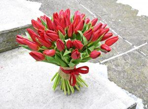 Bukiet tulipanów - kwiaty na Dzień Kobiet