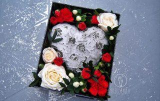 kwiaty na walentynki Girlanda