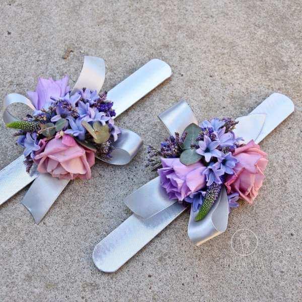Bransoletki kwiatowe
