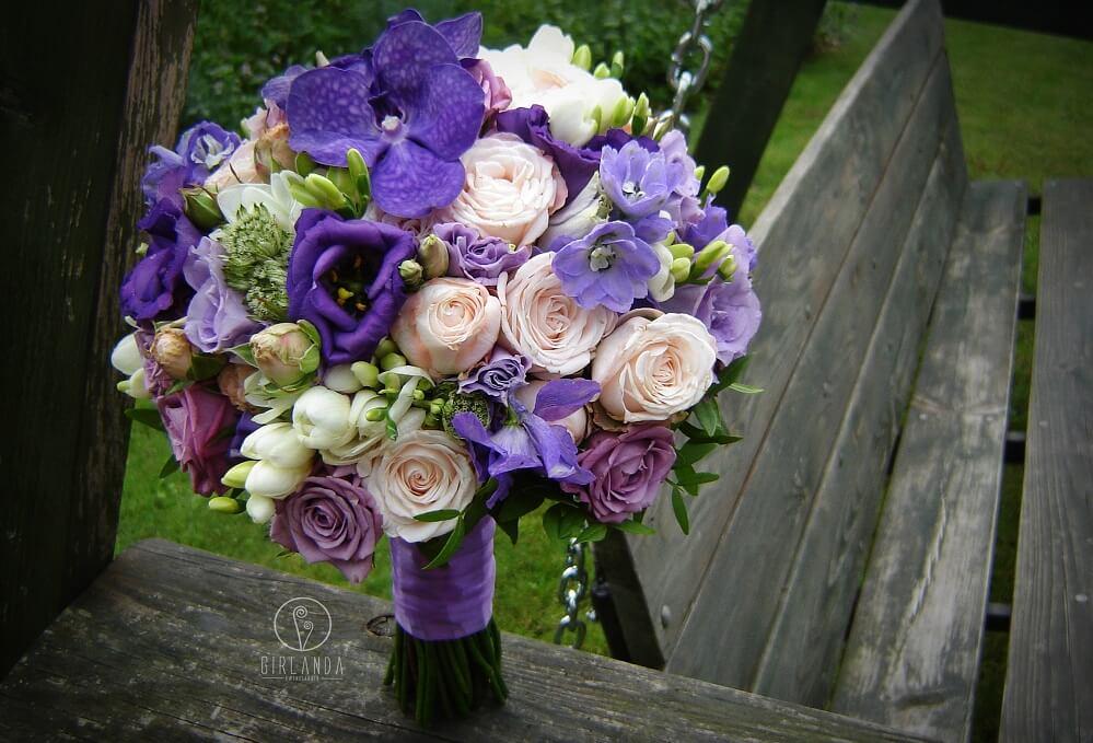 Kwiaciarnia Girlanda i propozycja ultra violet