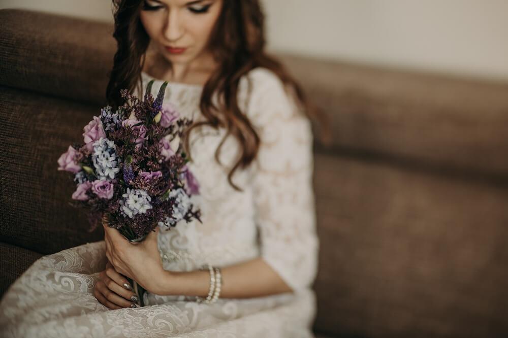 Kwiaty w najmodniejszych kolorach ślubnych