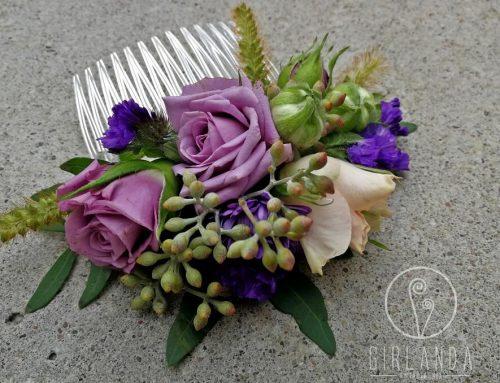 Fenomen wpinania żywych kwiatów we włosy Panny Młodej