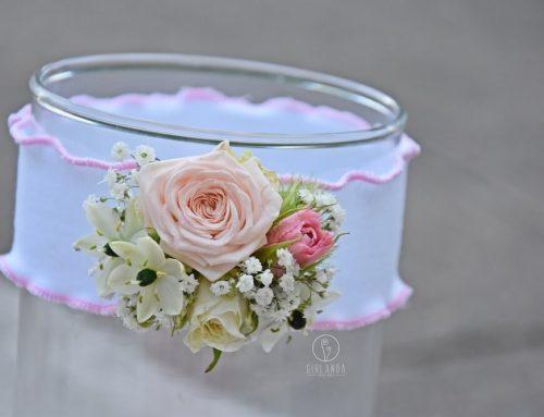 Kwiaty na chrzest
