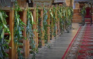 Dekoracja kościołów z kwiaciarnią Girlanda Białystok