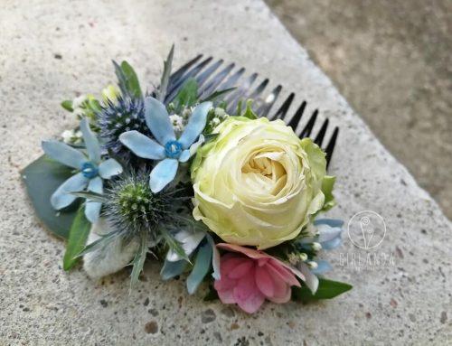Naturalne grzebyki kwiatowe na wiele okazji