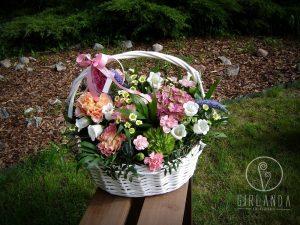 Kosze kwiatowe na różne okazje Białystok