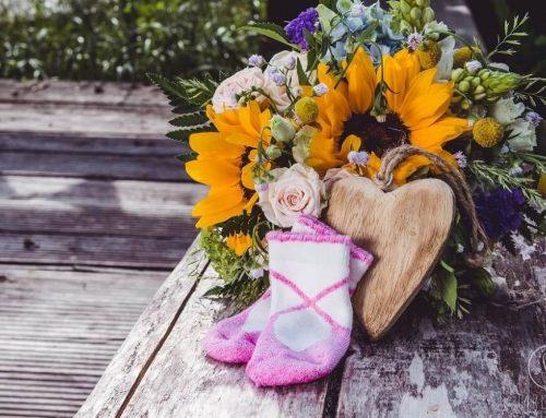 Kwiaty na sesje brzuszkowe