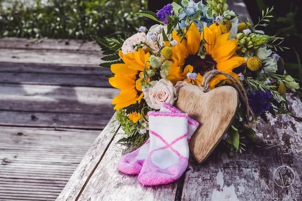 Sesje brzuszkowe - wiązanka kwiatów Białystok