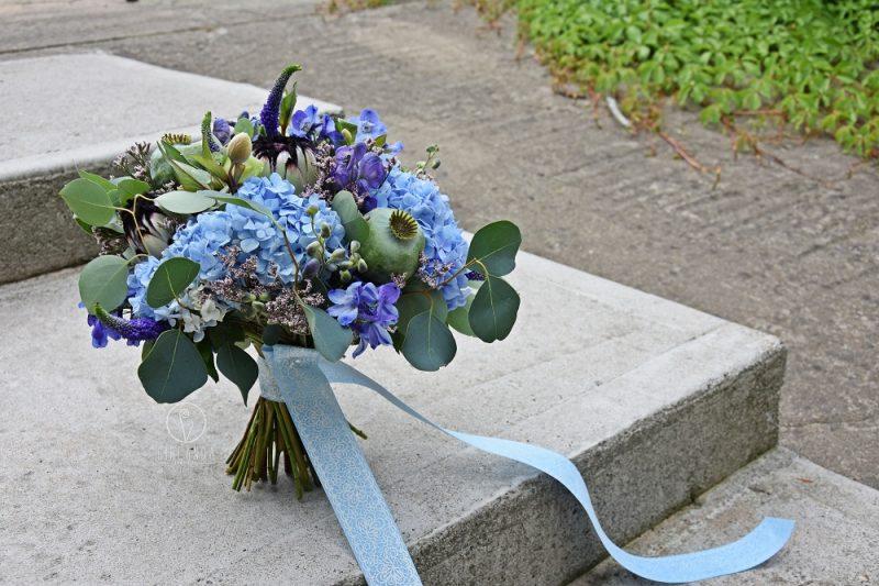 Zdjęcie kwiaciarni z dekoracja Girlanda Białystok