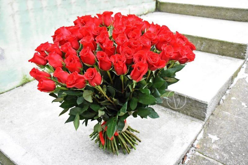 bukiet zaręczynowy z róż