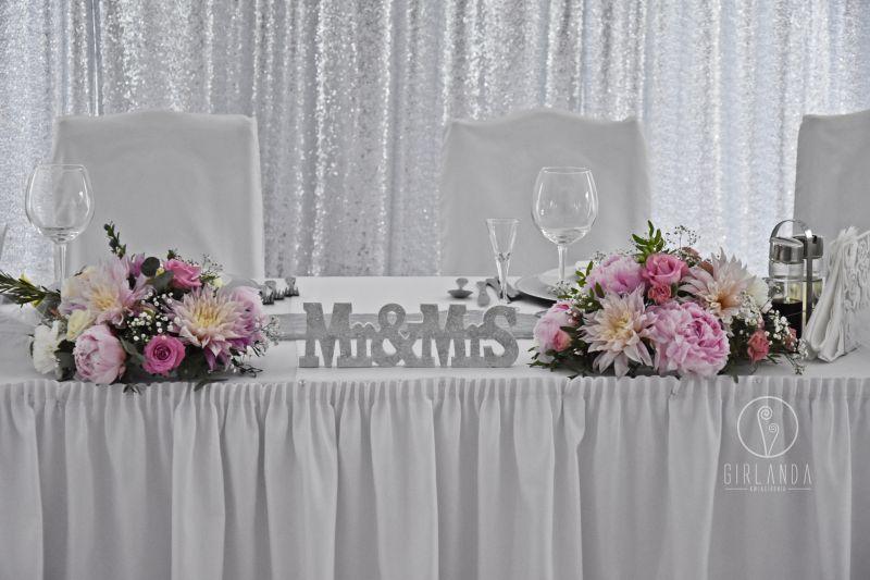 Zupełnie nowe Ciekawe pomysły na kwiatową dekorację stołu Młodej Pary EE74